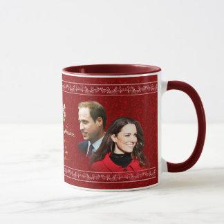 Königliche Hochzeits-Tasse Williams u. Kate Tasse