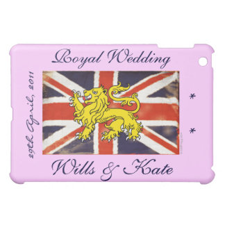 Königliche Hochzeits-Willen und Kate (Rosa) iPad Mini Hülle