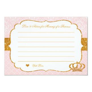 Königliche kleine Prinzessin Pink und Karte