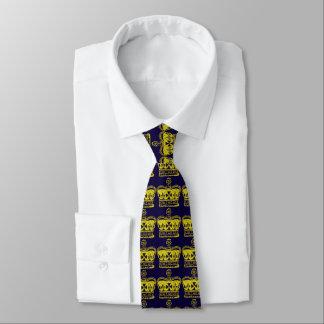 Königliche Kronen-Grafik Bedruckte Krawatte