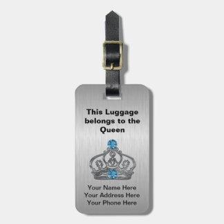 Königliche Kronen-Taschen-Umbauten Kofferanhänger