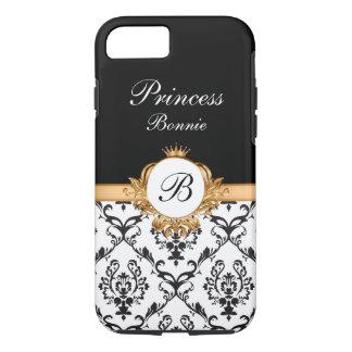 Königliche Prinzessin Crown Monogram iPhone 8/7 Hülle