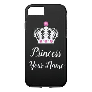 Königliche Prinzessin Monogram Crown Design iPhone 8/7 Hülle