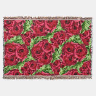Königliche Rosen-königliche Romance hochrote Decke