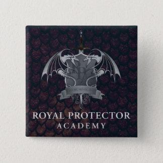 Königliche Schutz-Akademie - Wappen-Button Quadratischer Button 5,1 Cm