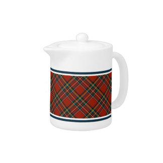 Königliche Stewarttartan-Teekanne