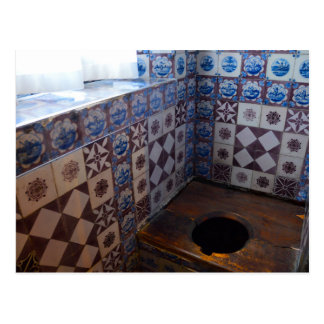 Königliche Toilette in Rosenborg Schloss, Postkarte