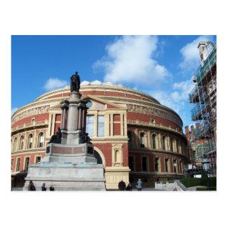 Königlicher Albert Hall London Postkarte