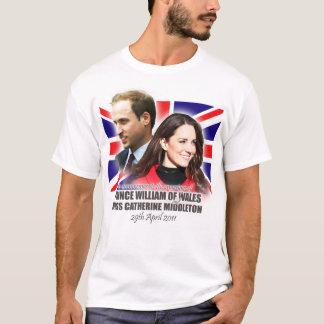 Königlicher Hochzeits-T - Shirt Williams u. Kate