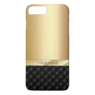 Königlicher Luxusgoldindividueller Name iPhone 7 Plus Hülle