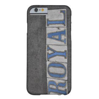 Königlicher Mobiltelefon-Kasten Barely There iPhone 6 Hülle