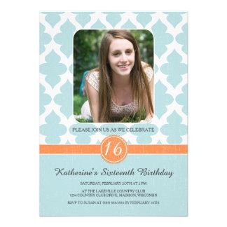 Königlicher Muster-16. Geburtstag-Geburtstag lädt Personalisierte Einladungen