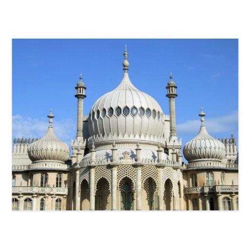 Königlicher Pavillon, Brighton, Sussex, England Postkarte