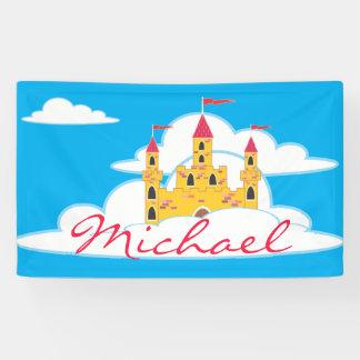 Königlicher Prinz Castle Kids Room Banner