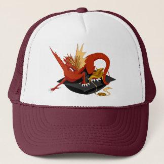 Königlicher roter Drache-Abschluss-Hut Truckerkappe