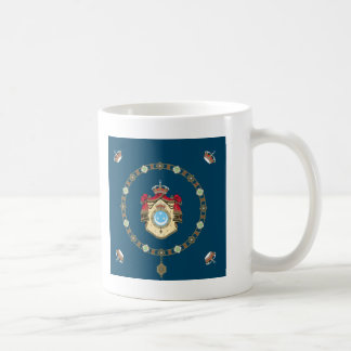 Königlicher Standard Ägyptens (1923-1958) Kaffeetasse
