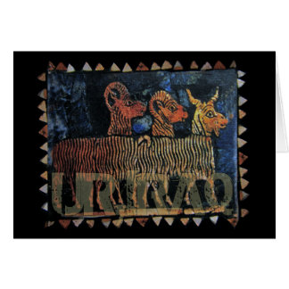Königlicher Standard von Ur der Irak Karte