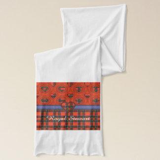 Königlicher Stewart-Clan karierter schottischer Schal