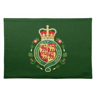 Königliches Abzeichen von Wales Tischset