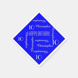Königliches Blau-nennt 10. Serviette