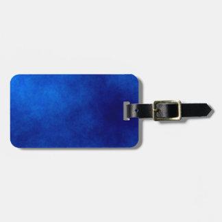 Königliches BlauWatercolor abstrakt, Kofferanhänger