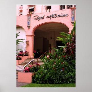 Königliches hawaiisches Hotel Poster