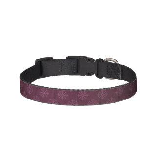 Königliches lila Hundehalsband
