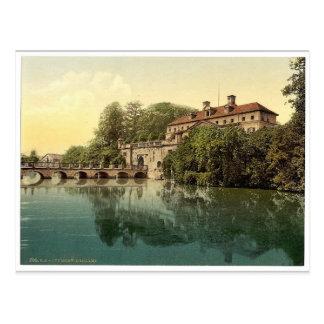 Königliches Schloss, Pyrmont (d.h., schlechtes Postkarte