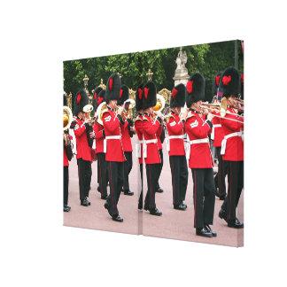 Königliches Schutz-Band, London, England Leinwanddruck