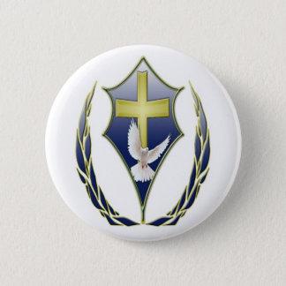 Königreich-Anmut-apostolischer Runder Button 5,1 Cm