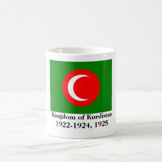 Königreich der Kurdistan-Flagge (1922-1924, 1925) Tasse
