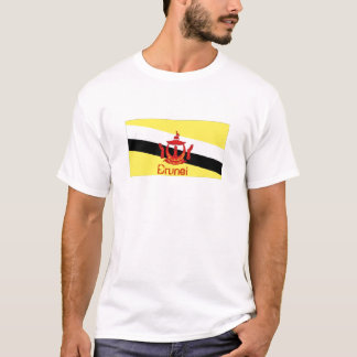 Königreich des Brunei-Flaggenandenken-T - Shirt
