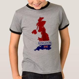 Königreich-Designer Name-Marke Karten-T - Shirt