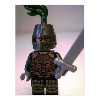 Königreich-Drache-Ritter Minifigure Postkarte
