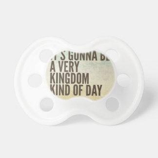 Königreich-ein bisschen Tag Schnuller