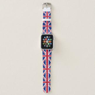 Königreich-Flagge Apple Watch Armband