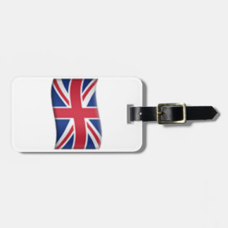 Königreich-Flagge - Emoji Gepäckanhänger