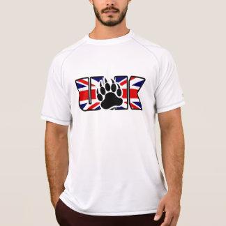 KÖNIGREICH-FLAGGE MIT DER BÄRENPRANKE T-Shirt