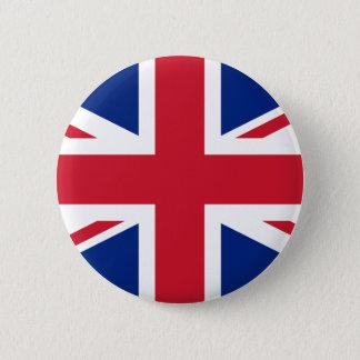 Königreich-Flagge Runder Button 5,1 Cm