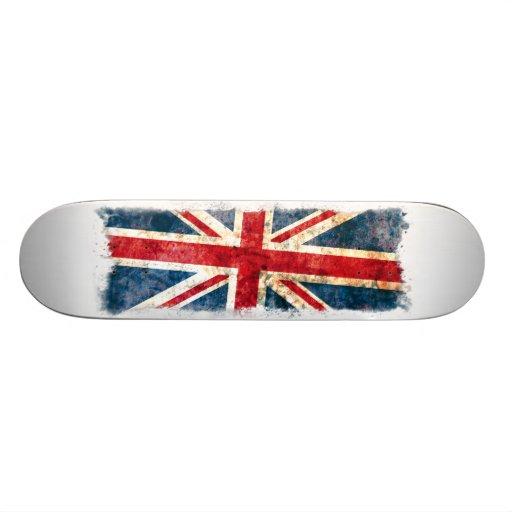 Königreich-Flagge Personalisiertes Skatedeck