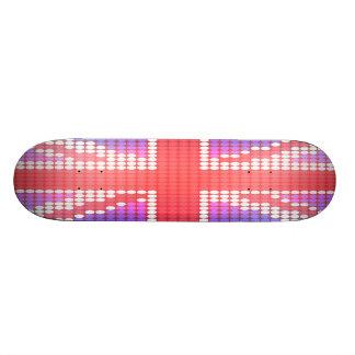 Königreich-Flagge Skateboardbrett