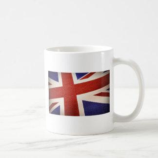 Königreich-Flagge - strukturiert Kaffeetasse