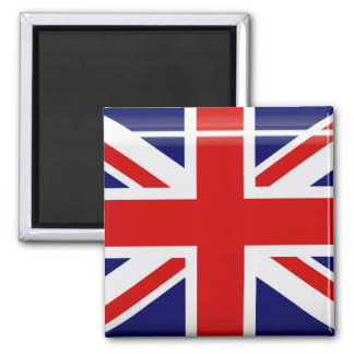Königreich-Flaggen-Knopf-Magnet Kühlschrankmagnet