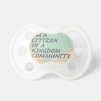 Königreich-Gemeinschaft Schnuller