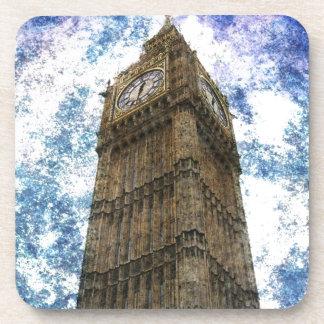 Königreich-Häuser des Parlaments London Big Ben Untersetzer