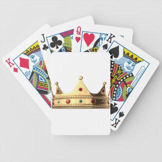 Königreich-Krone Bicycle Spielkarten