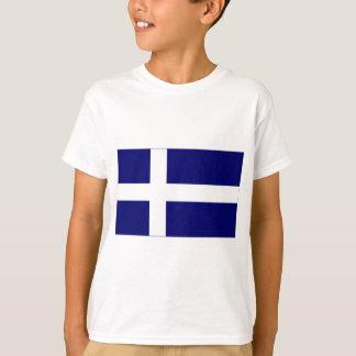 Königreich-Shetland-Inseln-Flagge T-Shirt