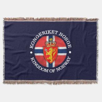Königreich von Norwegen Decke