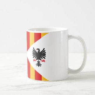 Königreich von Sizilien-Flagge Kaffeetasse