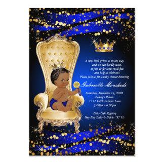 Königsblau-Babyparty, Babyparty-Einladung Karte